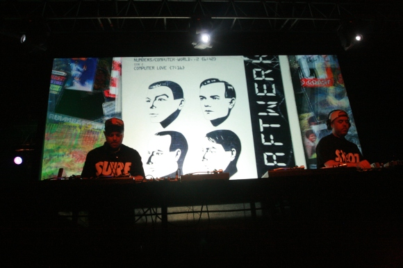 DJ Shadow and Cut Chemist // Photo by Yousef Hatlani