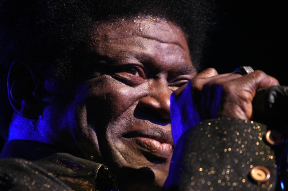 Charles Bradley at the Roseland, 4.14.15 // Photo by Yousef Hatlani