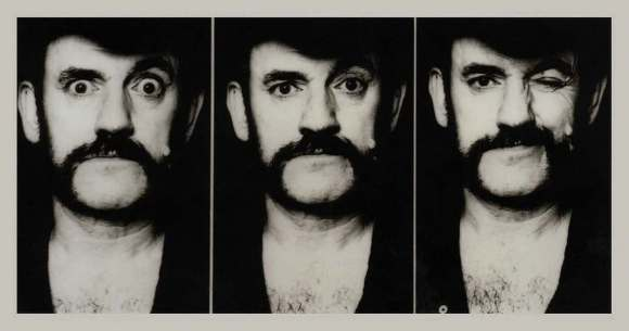 "Lemmy from a photo session for his 2002 autobiography, ""White Line Fever"" // Photo by Nicola Rübenberg"