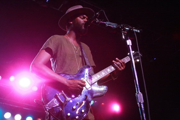 Gary Clark Jr // Photo by Yousef Hatlani