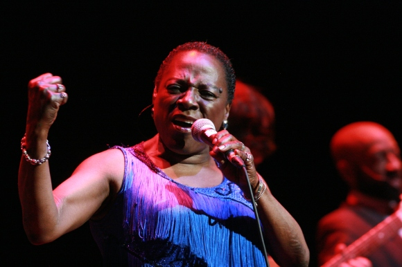 Sharon Jones // Photo by Yousef Hatlani