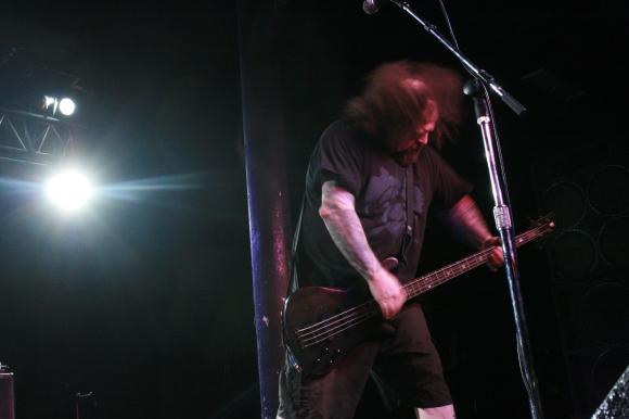 Napalm Death bassist Shane Embury. // Photo by Yousef Hatlani