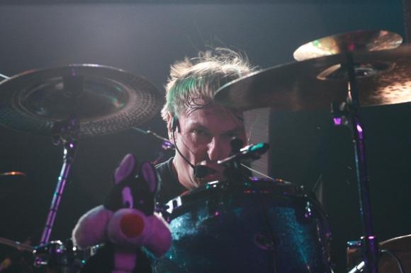 Melvins drummer Dale Crover. // Photo by Yousef Hatlani